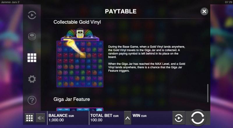Jammin Jars 2 :: Collectable Gold Vinyl