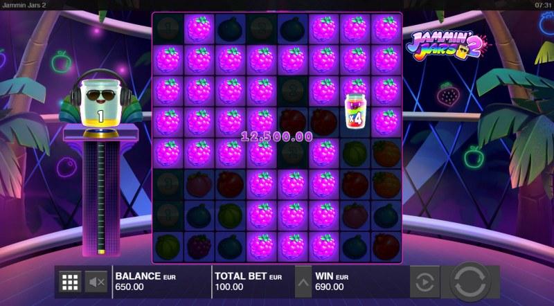 Jammin Jars 2 :: Multiple winning combinations lead to a big win