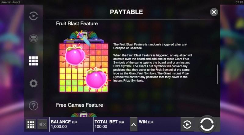 Jammin Jars 2 :: Fruit Blast Feature