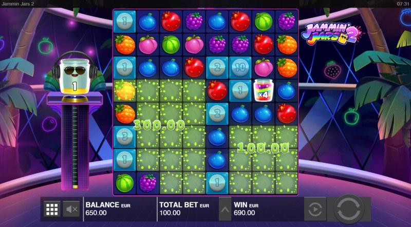 Jammin Jars 2 :: Multiple winning combinations