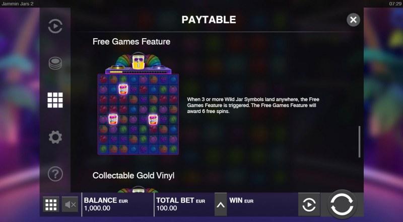 Jammin Jars 2 :: Free Game Rules