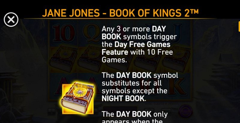 Jane Jones Book of Kings 2 :: Wild and Scatter Rules