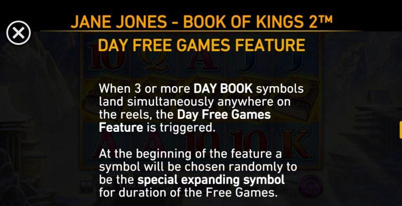 Jane Jones Book of Kings 2 :: Free Game Rules