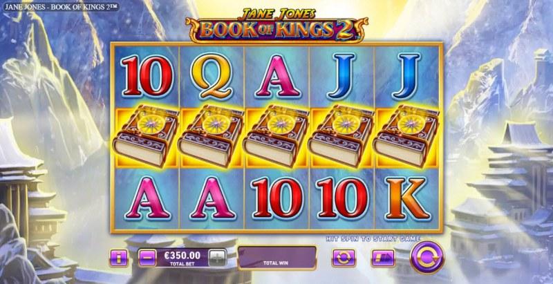Jane Jones Book of Kings 2 :: Main Game Board