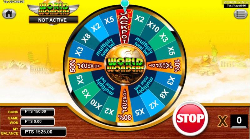 Japan Fortune :: Bonus Wheel Game Board