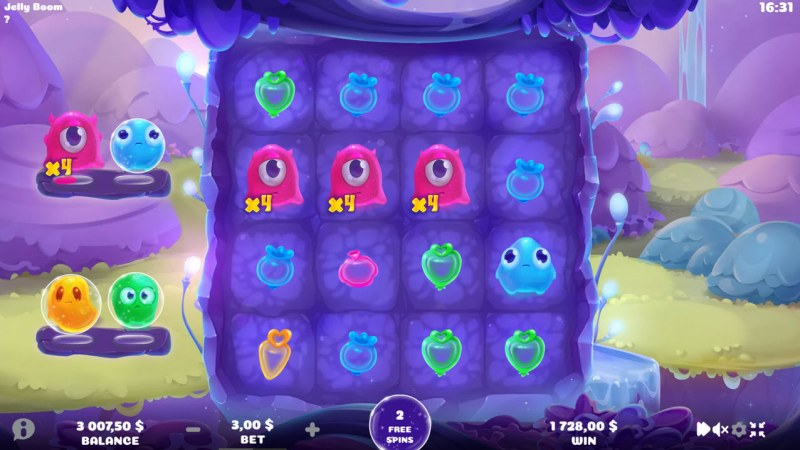 Jelly Boom :: Free Spins