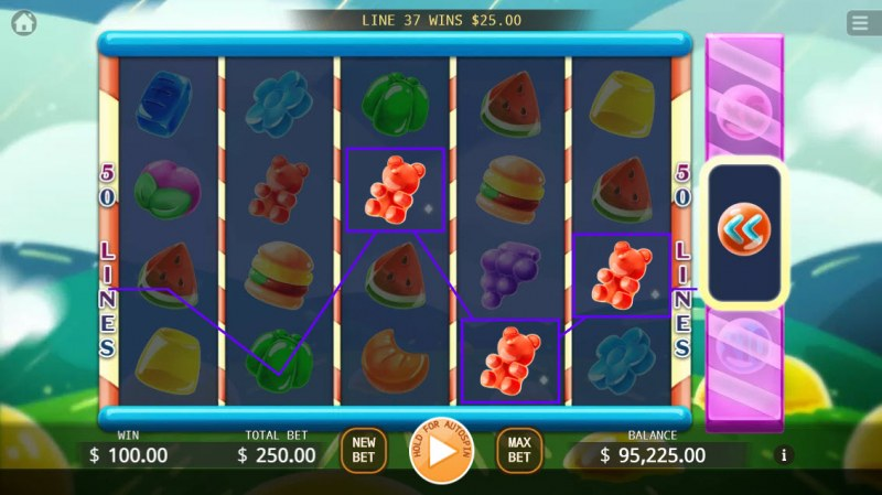 Jelly Mania :: Game pays in both directions