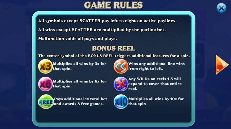 Jelly Mania :: Bonus Game Rules