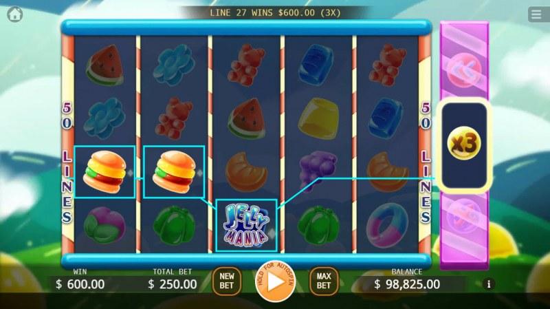 Jelly Mania :: X3 Win Multiplier