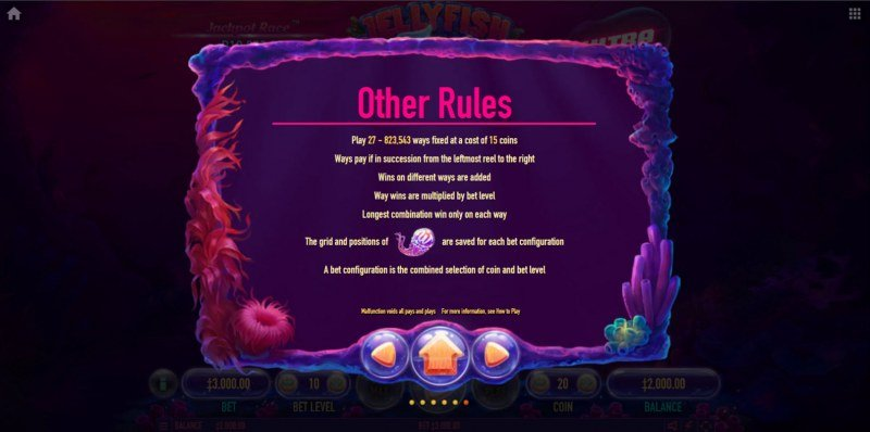 Jellyfish Flow Ultra :: General Game Rules