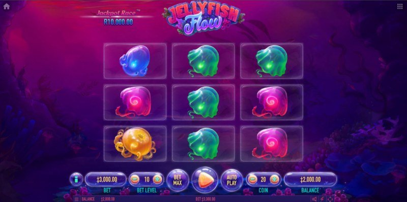 Jellyfish Flow :: Main Game Board