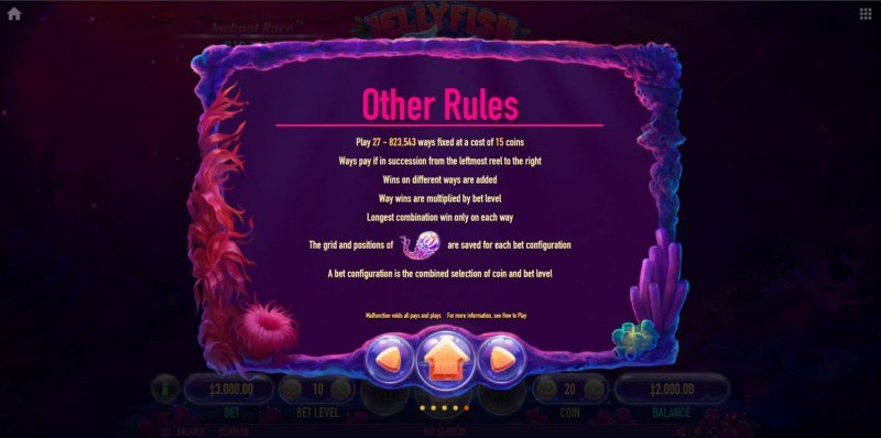Jellyfish Flow :: General Game Rules