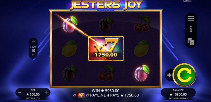 Jesters Joy :: Multiple winning combinations lead to a big win