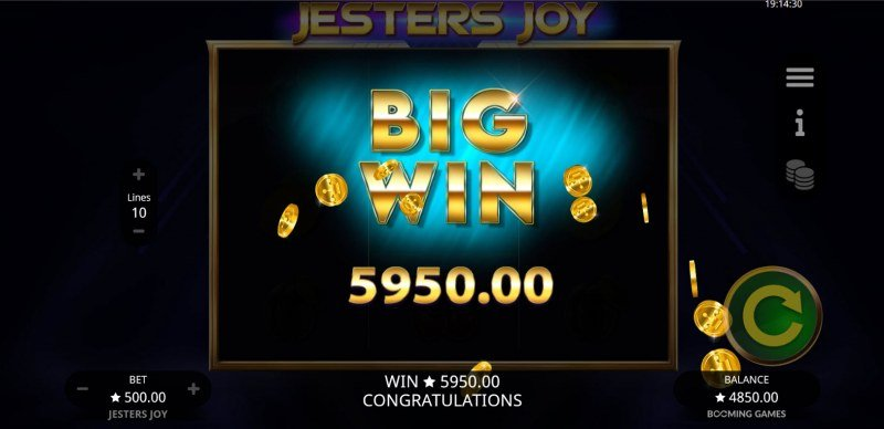 Jesters Joy :: Big Win