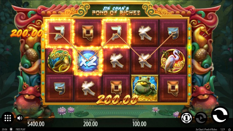 Jin Chan's Pond of Riches :: X2 Win Multiplier