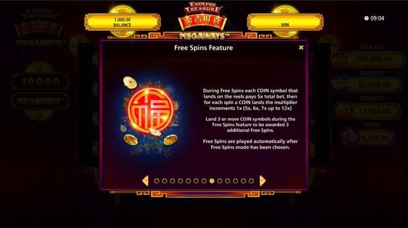 Jin Ji Bao Xi Megaways :: Free Spin Feature Rules