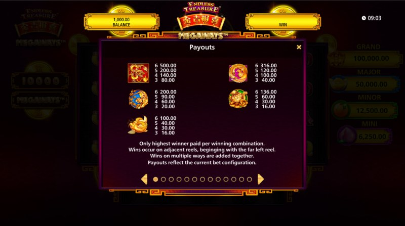 Jin Ji Bao Xi Megaways :: Paytable - High Value Symbols