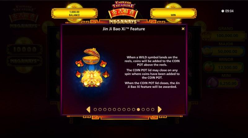 Jin Ji Bao Xi Megaways :: Feature Rules