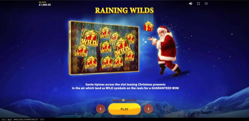 Jingle Bells Power Reels :: Raining Wilds