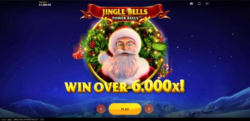 Jingle Bells Power Reels :: Win Over 6,000x