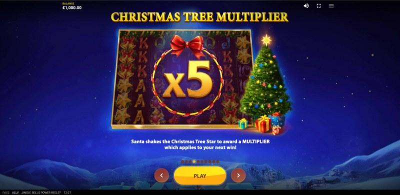 Jingle Bells Power Reels :: Christmas Tree Multipier