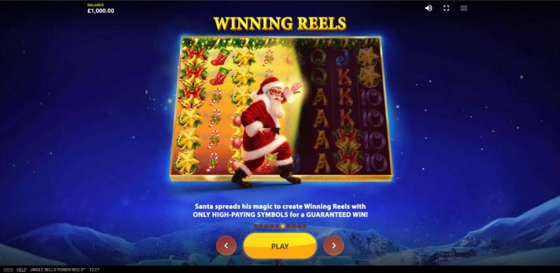 Jingle Bells Power Reels :: Winning Reels