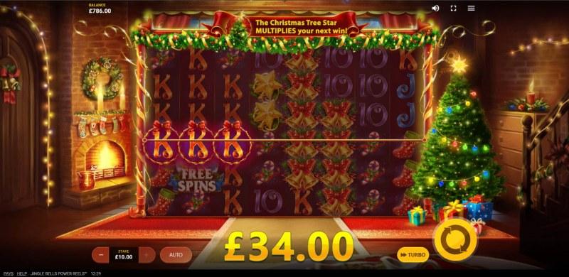 Jingle Bells Power Reels :: Multiple winning combinations