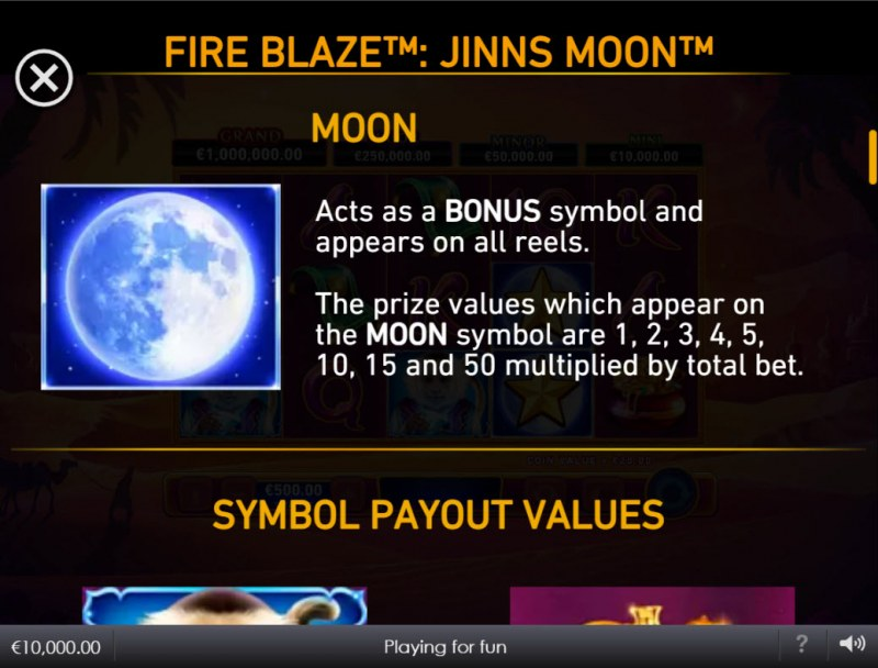 Jinns Moon :: Bonus Feature