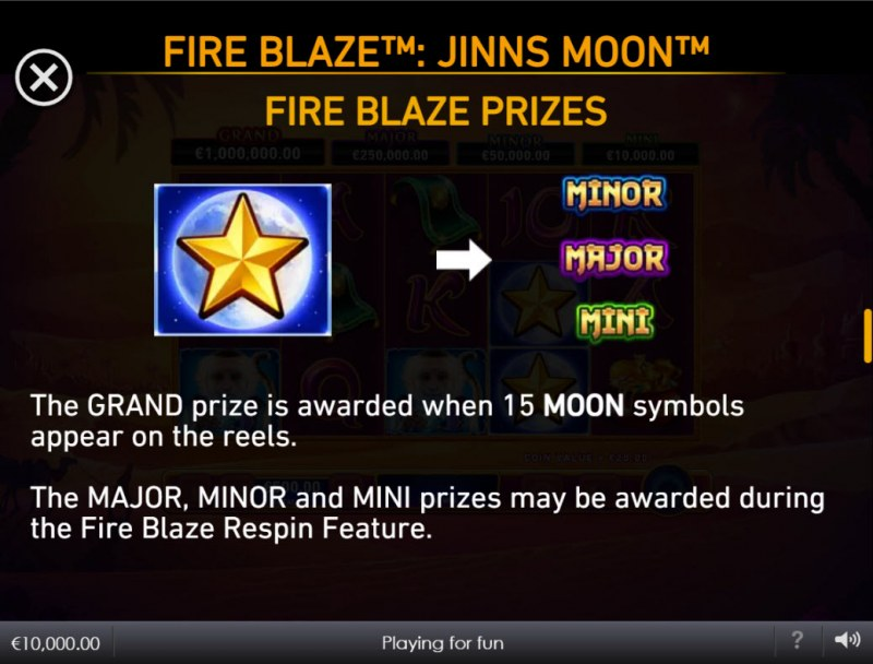 Jinns Moon :: Fire Blaze