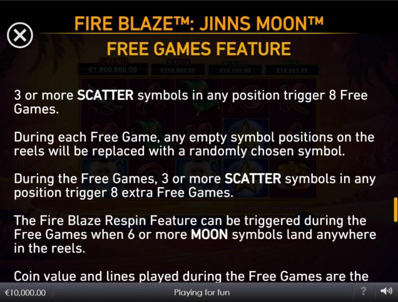 Jinns Moon :: Free Game Rules