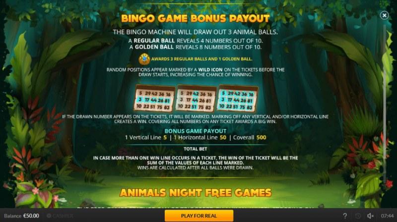 Jogo Do Bicho :: Bingo Game Payout