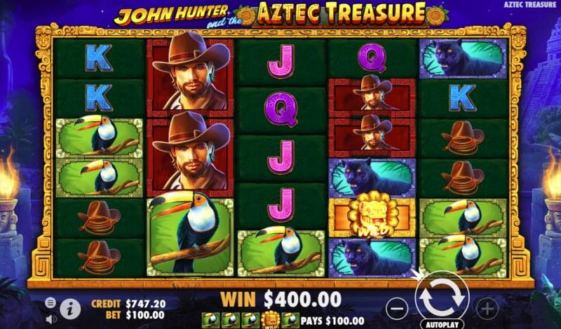 John Hunter And The Aztec Treasure Slot Machine
