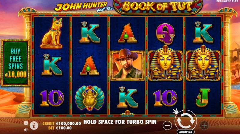Play slots at Loki Casino: Loki Casino featuring the Video Slots John Hunter and the Book of Tut with a maximum payout of $550,000