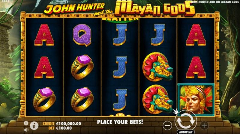 John Hunter and the Mayan Gods :: Main Game Board