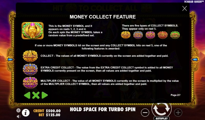 John Hunter & the Tomb of the Scarab Queen :: Money Collect Feature