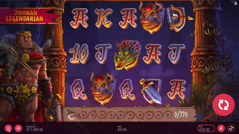 Johnan Legendarian :: Main Game Board
