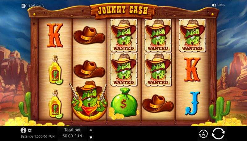 Johnny Cash :: Base Game Screen