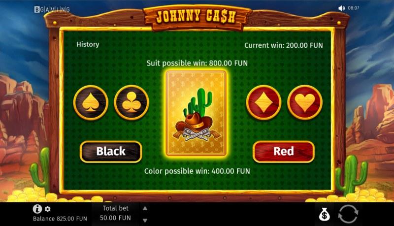 Johnny Cash :: Gamble feature
