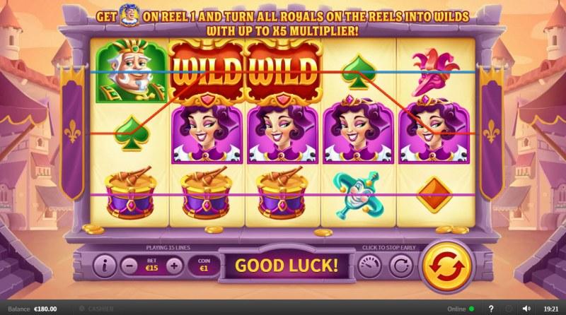 Joker Goes Wild :: Multiple winning paylines