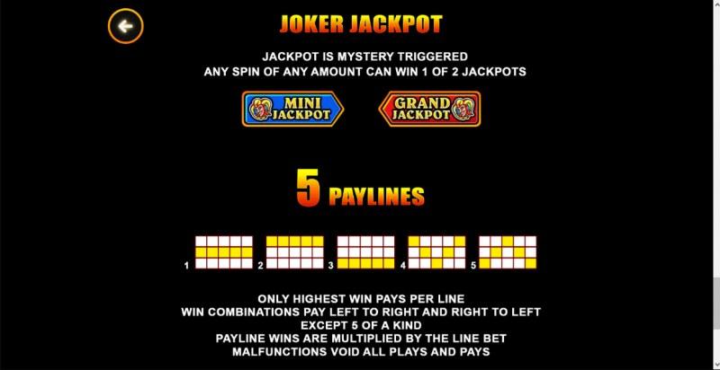 Joker Hot Reels :: Joker Jackpot