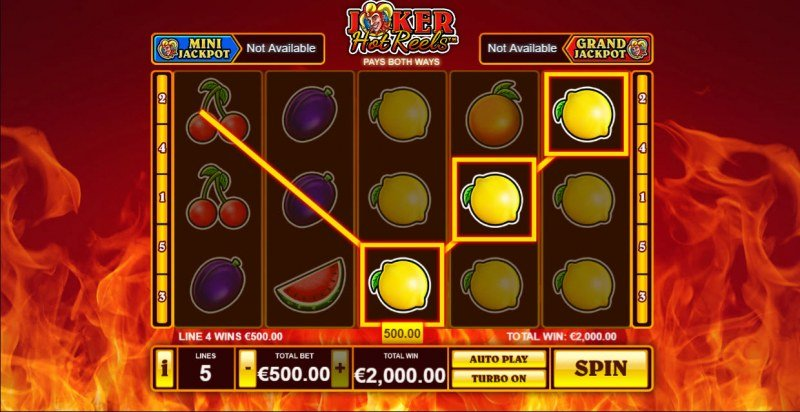 Joker Hot Reels :: Game Pays In Both Directions