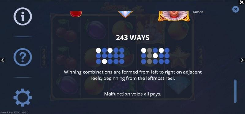 Joker Joker :: 243 Ways to Win