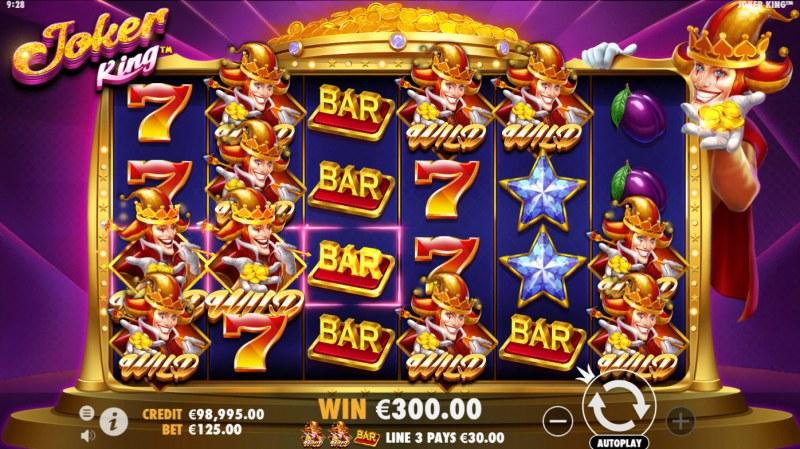Joker King :: Multiple winning paylines