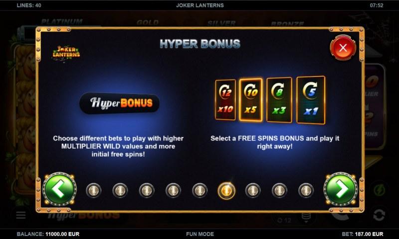 Joker Lanterns :: Hyper Bonus