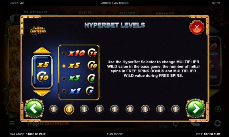 Joker Lanterns :: Hyperbet