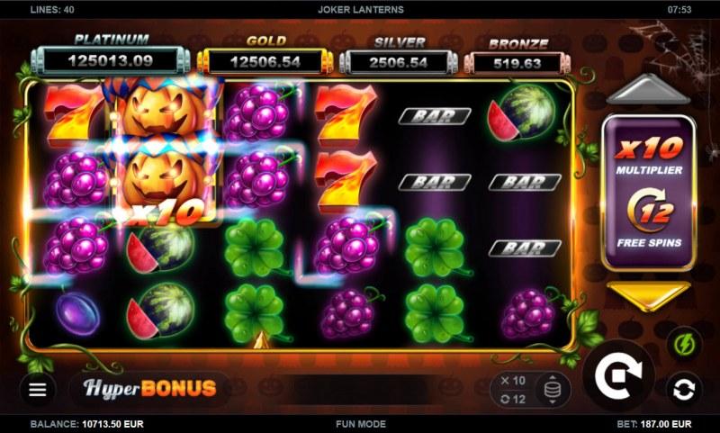 Joker Lanterns :: Multiple winning paylines