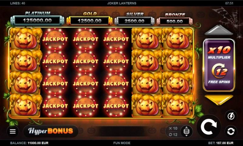 Joker Lanterns :: Main Game Board