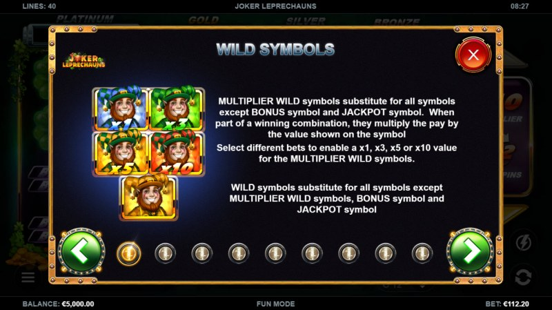 Joker Leprechauns :: Wild Symbol Rules