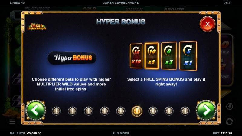 Joker Leprechauns :: Hyper Bonus