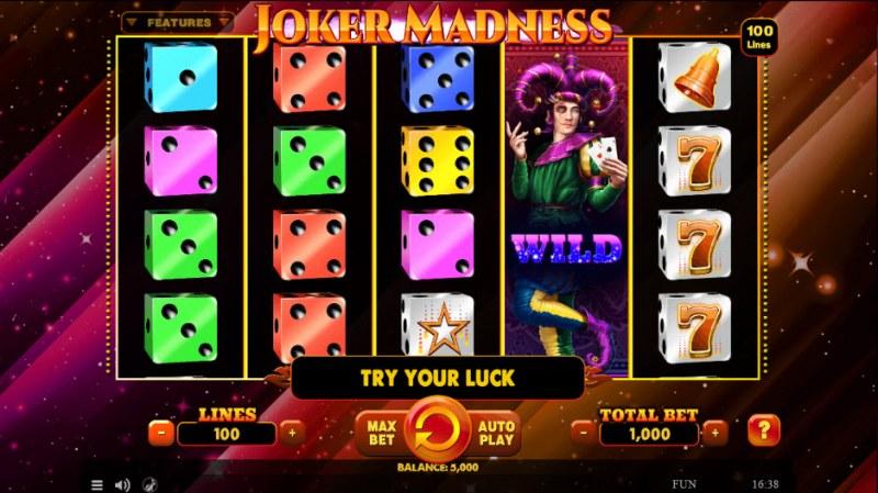 Joker Madness :: Main Game Board